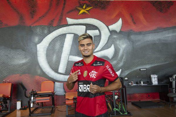 Flamengo deseja comprar Andreas Pereira em definitivo